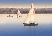 Calm Waters Photo Prints - Becalmed Print by Betty LaRue
