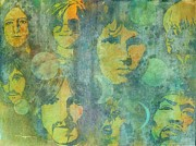 Music Legends Paintings - Because by Robert Hooper