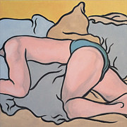 Bedscape Two-thirty Am Print by Stan Magnan