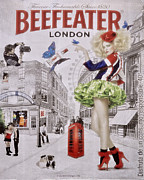 Billboard Photos - Beefeater Gin by Mary Machare