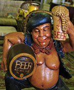Keg Digital Art - Beer Bellied by John Hoey