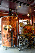 At Work Metal Prints - Beer - The Brew Kettle Metal Print by Paul Ward