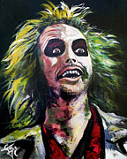 Beetlejuice Framed Prints - Beetlejuice Framed Print by Tom Carlton