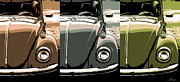 Original Vw Beetle Posters - Beetles Poster by Gordon Dean II