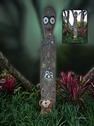 Disney Bear Photos - Before and After Sample Art 32 Jungle Bear 2 by Thomas Woolworth