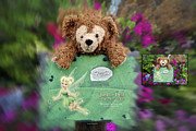 Disney Bear Photos - Before and After Sample Art 35 Bear and His Girl by Thomas Woolworth
