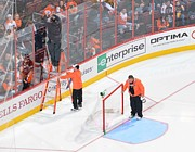 Philadelphia Flyers Photos - Before game by Justin DiGiacomo