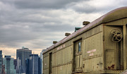 Skylines Metal Prints - Before PATH Metal Print by JC Findley