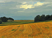 Limburg Metal Prints - Before rainfall Metal Print by Nop Briex