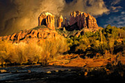 Arizona Digital Art Originals - Before the Rains Came - Oil by Jon Burch Photography