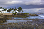 Ko Olina Lagoon Prints - Before The Storm Print by Eddie Freeman