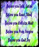 Criticize Art - Before You Quit 2 by Barbara Griffin