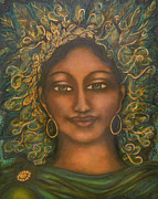 Visionary Artist Metal Prints - Begin Again Metal Print by Marie Howell Gallery