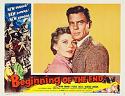 1950s Movie Stars Framed Prints - Beginning of the End 1957 Framed Print by Mountain Dreams