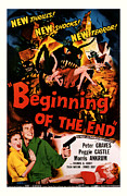 Movie Mixed Media - Beginning of the End 1957 by Presented By American Classic Art