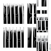 Radio Print Prints - Behind Bars Part Two Print by Josef Putsche