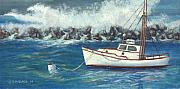 Jerry Mcelroy Originals - Behind the Breakwall by Jerry McElroy