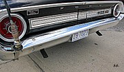 Tail Lights Photos - Behind The Galaxie by Geri Glavis