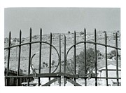 Pearly Gates Prints - Behind The Gate Print by Dawn Burke