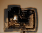 Digital Camera Prints - Behind the Lens  Print by Steven  Digman