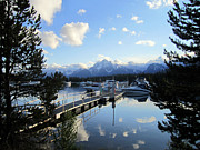 Grand Tetons Prints - Behold Print by Mike Podhorzer