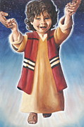 Christ Child Posters - Behold The King Poster by Linda Rous