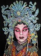 Bejing Opera Face Print by James Kuhn