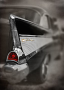 Bel Air Prints - Bel Air Tail Light Print by Mark Rogan