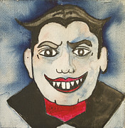 Asbury Park Funhouse Painting Originals - Bela Lugosi as Tillie by Patricia Arroyo