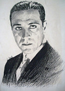 Dracula Drawings - Bela Lugosi - Count Dracula  by Henry Goode