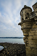 Limestone Carvings Posters - Belem Tower 2 Poster by Deborah Smolinske