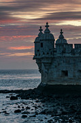 Strength Metal Prints - Belem Tower in Lisbon Portugal Metal Print by Ayhan Altun