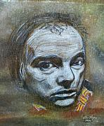Singers Pastels - Belfast Cowboy - Van Morrison by Alan Hogan