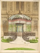 Neo-classical Posters - Belgian Model Verandah Poster by Philip Ralley