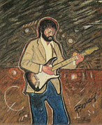Eric Clapton Art - Bell Bottom Bluesman by John Pasdach