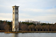 Grey Clouds Photos - Bell Tower by Corinne Rhode