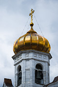 Russian Cross Photos - Bell Tower - Featured 2 by Alexander Senin