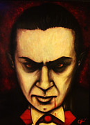 Horror Movies Paintings - Bella by Justin Coffman