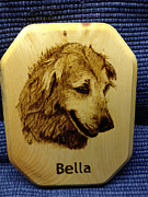 Woodburning Pyrography - Bella by Loring Slivinski