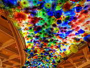Skylight Framed Prints - Bellagio 001 Framed Print by Lance Vaughn