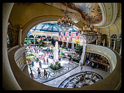 Conservatory Prints - Bellagio Conservatory and Botanical Gardens Print by Edward Fielding