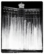Bellagio Posters - Bellagio Fountains I Poster by John Rizzuto
