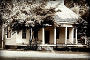 Catherine White Photo Prints - Bellavue Plantation  Print by Debra Forand