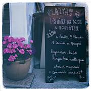 Kate McKenna - French Chalkboard Menu