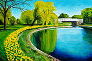 Suzanne Johnson - Belle Isle in Spring