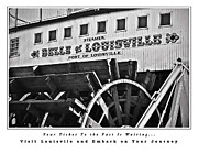 Netting Photos - Belle of Louisville Travel Poster by Greg Jackson