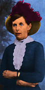 Gunslingers Framed Prints - Belle Starr 20130514 long Framed Print by Wingsdomain Art and Photography
