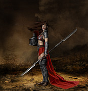 Shanina Conway - Bellona Goddess of War