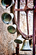 Quality Metal Prints - Bells in Sicily Metal Print by David Smith