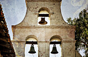 California Mission Framed Prints - Bells of Mission San Diego Framed Print by Joan Carroll